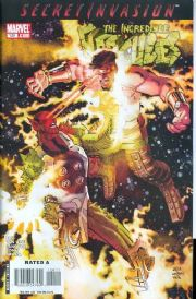 Incredible Hercules #120 (2008) Secret Invasion Marvel comic book